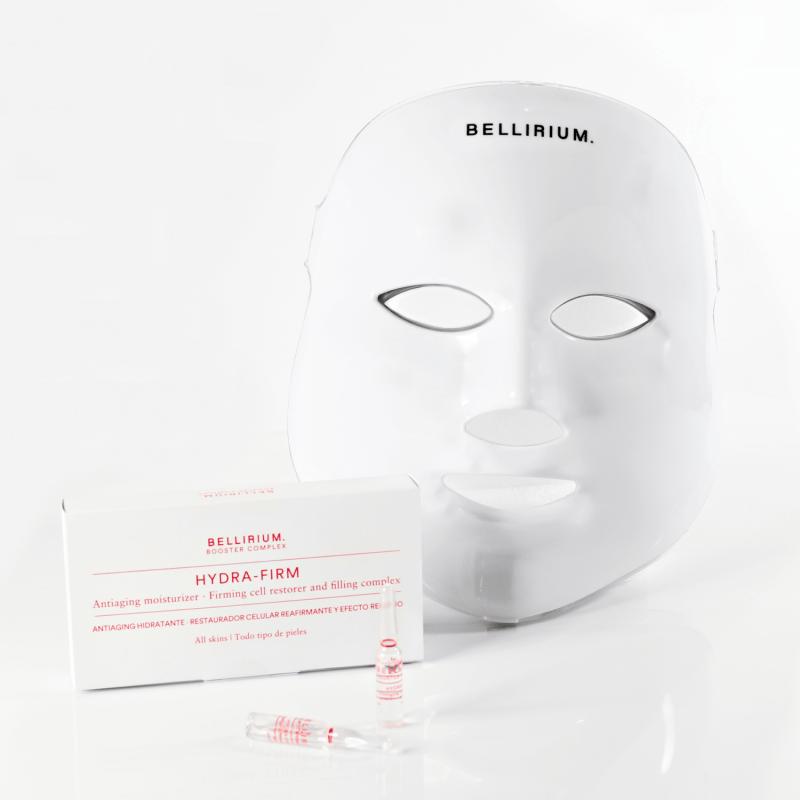 Máscara Led Bellirium + Booster Complex
