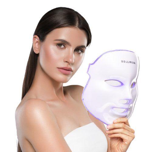 Mască facială cu led Bellirium